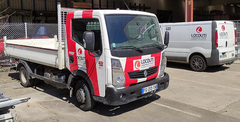 Camion-locouti